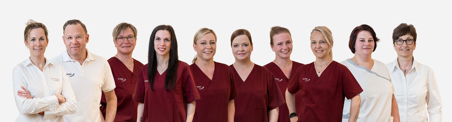Team Fachpraxis für Kieferorthopadie Dr. Strobel